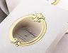 結婚式招待状(手作りキット) ミロワールG(ゴールド) サポート画像2