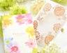 結婚式招待状(手作りキット) フラワリー サポート画像2