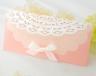 結婚式招待状(手作りキット) セントポーリアP(ピンク) サポート画像2