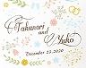 結婚式招待状(手作りキット) プレシャスA【Name on Card タイプ】 サポート画像2