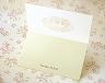 結婚式招待状(手作りキット) フォリアB【Name on Card タイプ】 サポート画像2