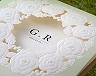 結婚式招待状(手作りキット) ミントA【Name on Card タイプ】 サポート画像2