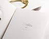 結婚式招待状(手作りキット) ミロワールG(ゴールド) サポート画像3