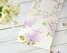 結婚式招待状(手作りキット) ライラック【Name on Card タイプ】 サポート画像3