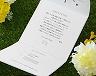 結婚式招待状(手作りキット) ミントA【Name on Card タイプ】 サポート画像3