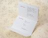 結婚式招待状(手作りキット) ベティA【Name on Card タイプ】 サポート画像4
