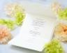 結婚式招待状(手作りキット) パティオBW(ブラウン)【Name on Card タイプ】 サポート画像5