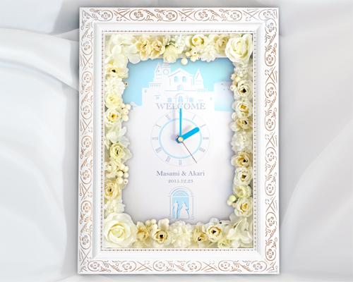 ウェルカムボード(フラワー) アリエッタ(時計付き) メイン画像