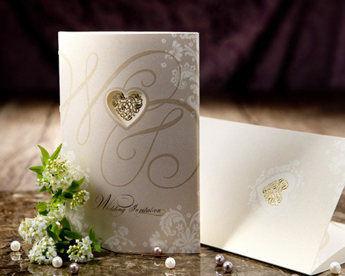 結婚式招待状(手作りキット) オリエンタルG(ゴールド) メイン画像