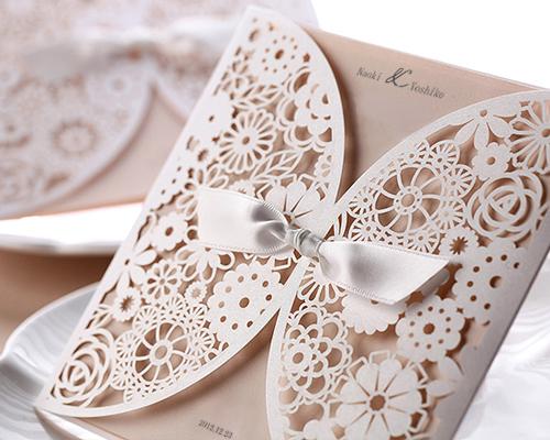 結婚式招待状(手作りキット) ブルーミングD メイン画像
