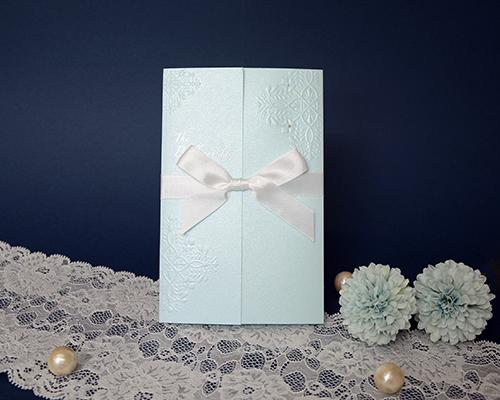結婚式招待状(手作りキット) ブリリアント・ブルー メイン画像
