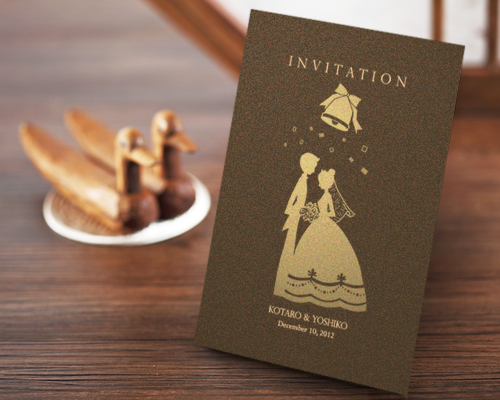 結婚式招待状(手作りキット) ハーモニー【Name on Card タイプ】 メイン画像