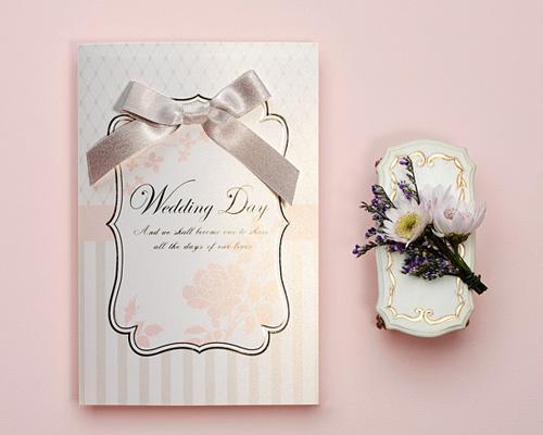 結婚式招待状(印刷込み) マ・シャンブル メイン画像