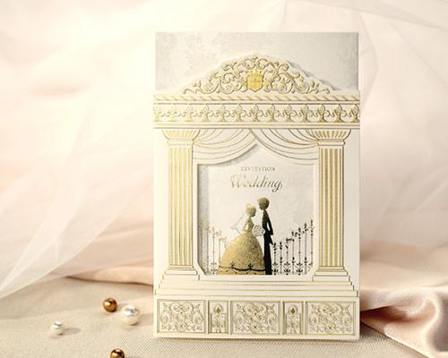 結婚式招待状(印刷込み) プロローグA メイン画像