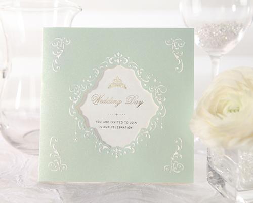 結婚式招待状(印刷込み) ヴェール メイン画像