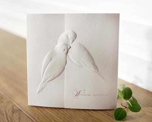 結婚式招待状(印刷込み) シャンテ メイン画像