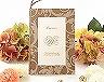 結婚式招待状(手作りキット) アダージョBW(ブラウン) メイン画像