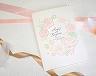 結婚式招待状(手作りキット) シンシア(Pink)【Name on Card タイプ】 メイン画像