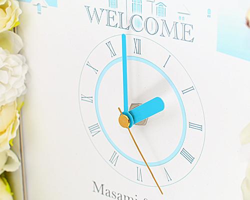ウェルカムボード(フラワー) アリエッタ(時計付き) サポート画像1 (拡大)