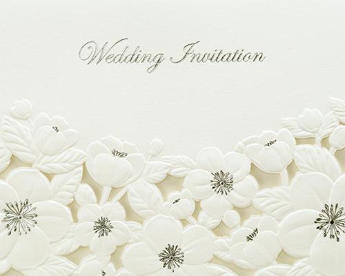 結婚式招待状(手作りキット) ディアレストH サポート画像1 (拡大)