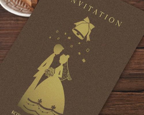 結婚式招待状(手作りキット) ハーモニー【Name on Card タイプ】 サポート画像1 (拡大)