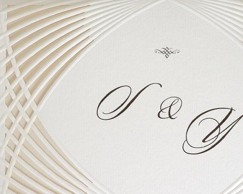 結婚式招待状(手作りキット) グリーユA【Name on Card タイプ】 サポート画像1 (拡大)