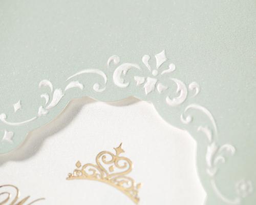 結婚式招待状(手作りキット) ヴェール サポート画像2 (拡大)
