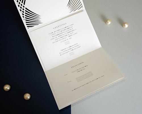 結婚式招待状(手作りキット) グリーユA【Name on Card タイプ】 サポート画像2 (拡大)