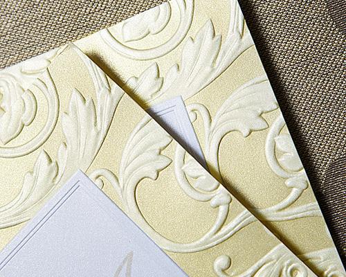 結婚式招待状(手作りキット) アダージョG(ゴールド) サポート画像3 (拡大)