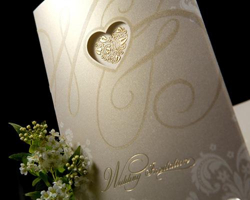 結婚式招待状(手作りキット) オリエンタルG(ゴールド) サポート画像3 (拡大)