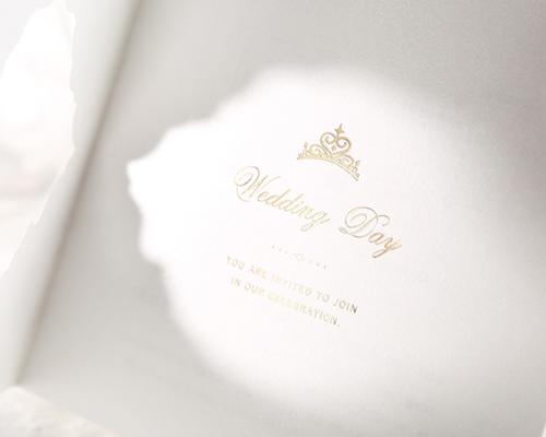 結婚式招待状(手作りキット) ヴェール サポート画像3 (拡大)