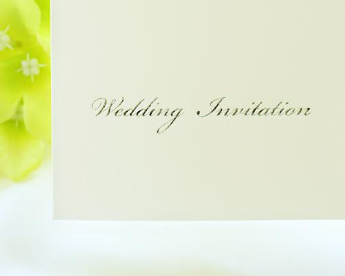 結婚式招待状(手作りキット) ディアレストV サポート画像3 (拡大)