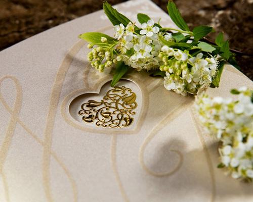 結婚式招待状(手作りキット) オリエンタルG(ゴールド) サポート画像4 (拡大)