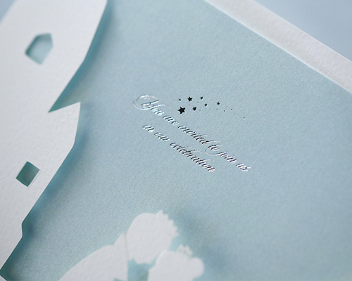 結婚式招待状(手作りキット) アリエッタA サポート画像4 (拡大)