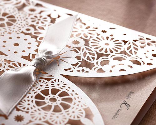 結婚式招待状(手作りキット) ブルーミングD サポート画像4 (拡大)