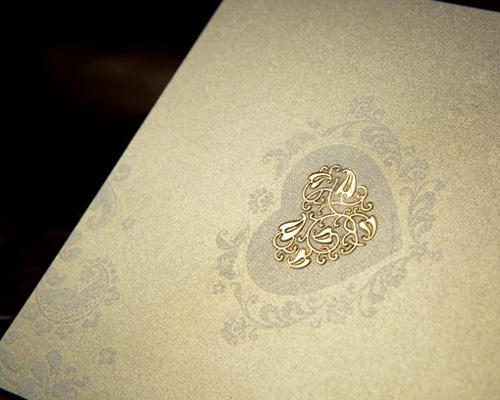 結婚式招待状(手作りキット) オリエンタルG(ゴールド) サポート画像5 (拡大)