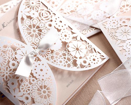 結婚式招待状(手作りキット) ブルーミングD サポート画像5 (拡大)