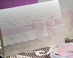結婚式招待状(手作りキット) キュート