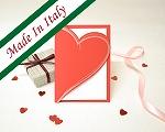 結婚式招待状(インポートカード) ラブハート