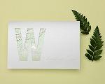 結婚式招待状(印刷込み) ナチュラル