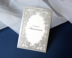 結婚式招待状(印刷込み) ジャルダンSV(シルバー)