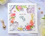 結婚式招待状(印刷込み) コクリコA【Name on Card タイプ】
