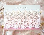 結婚式招待状(印刷込み) フィーユA【Name on Card タイプ】