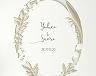 結婚式招待状(手作りキット) ミュゲB【Name on Card タイプ】 サポート画像1