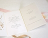 結婚式招待状(手作りキット) シンシア(Pink)【Name on Card タイプ】 サポート画像2