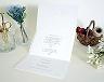 結婚式招待状(手作りキット) ミーテA【Name on Card タイプ】 サポート画像2