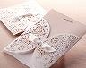 結婚式招待状(手作りキット) ブルーミングD サポート画像6
